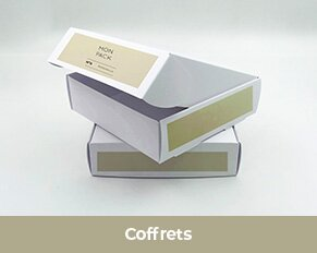 Impression packaging boîtes coffrets