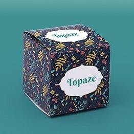 Impression packaging boite épicerie fine cube