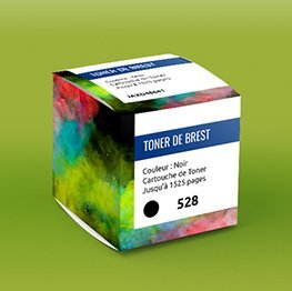 Impression packaging boite cube emballage informatique