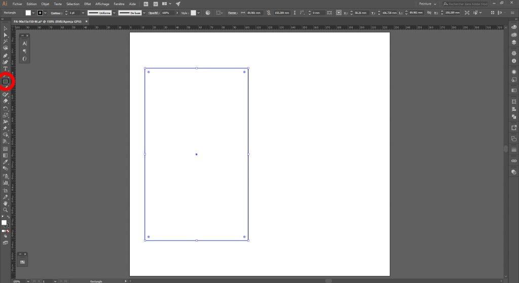 Créer un packaging avec Illustrator, concevoir la forme de base