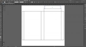 Créer un packaging avec Illustrator, onglets de face