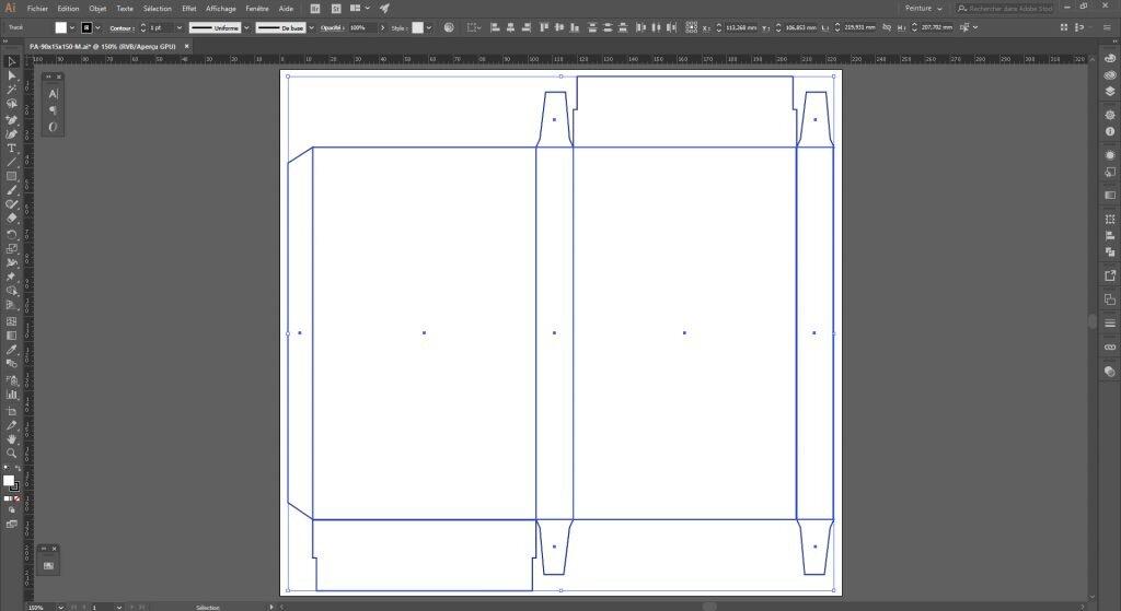 Créer un packaging avec Illustrator, prêt pour le design