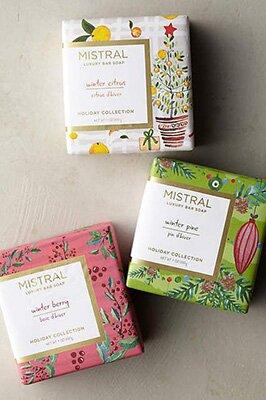 Packaging savon Mistral beau et fonctionnel