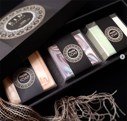 Un packaging savon luxe