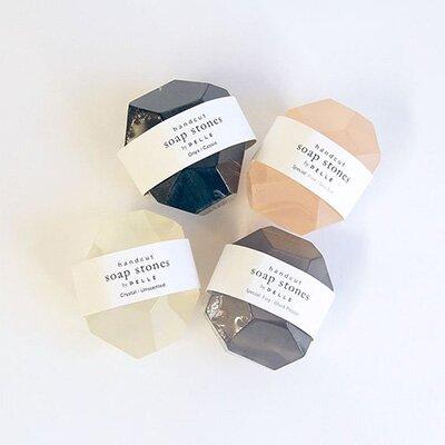 Emballage savon pierre précieuse