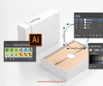 Comment créer un packaging avec Illustrator ?
