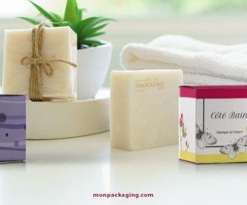 Des packaging pour savon beaux et fonctionnels