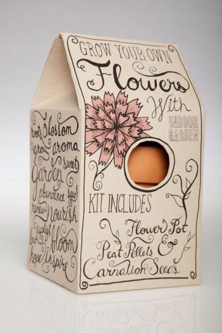 idée de packaging fait maison