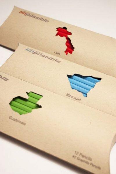 idée de packaging écologique