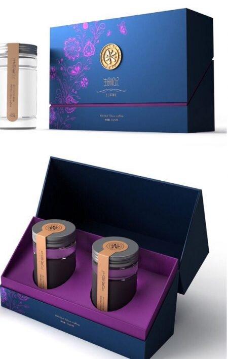 idée de packaging haut de gamme