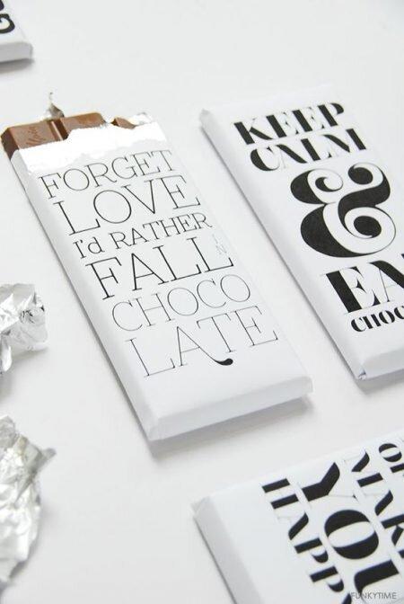 idée de packaging noir et blanc