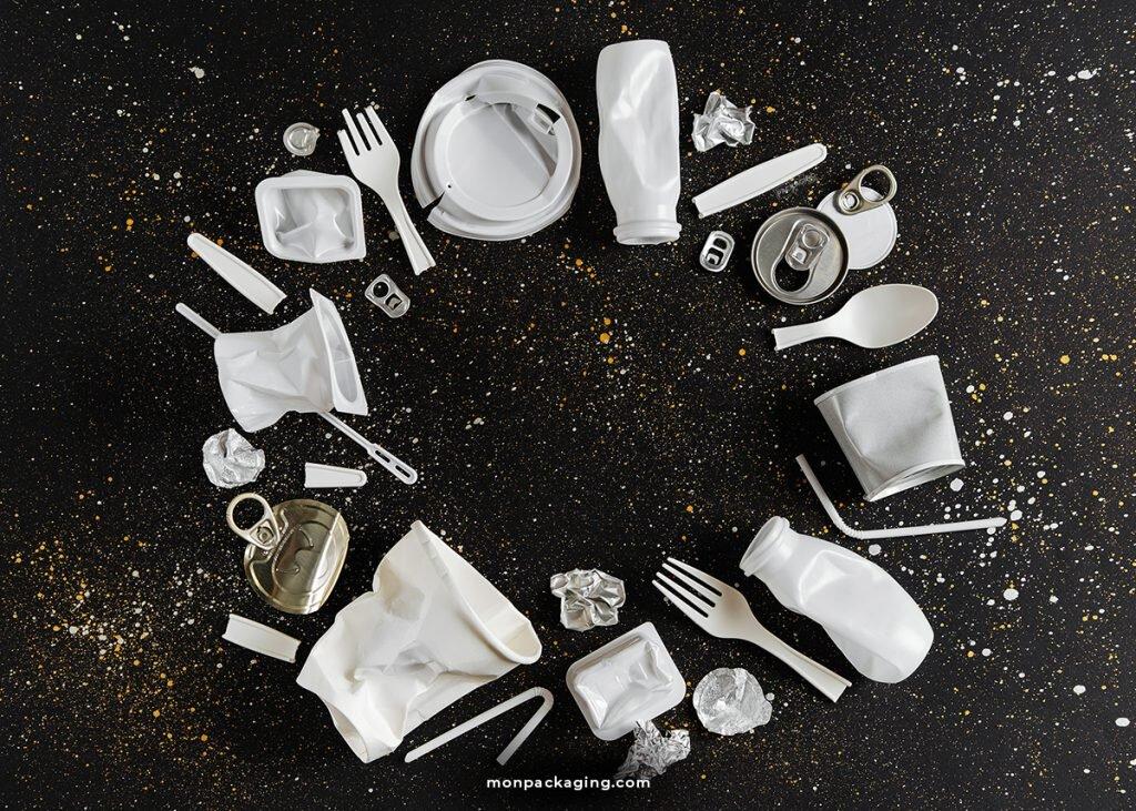 Contre le plastique et autres avec le packaging qui se mange