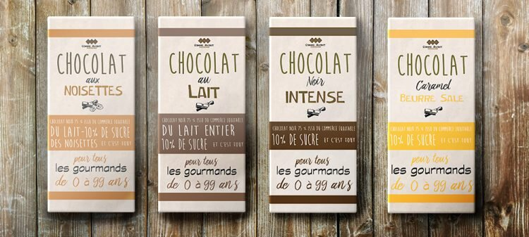 Packaging chocolat mentions obligatoires