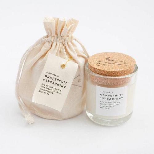 packaging écologique pour bougie
