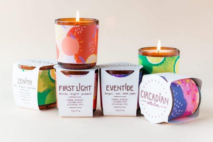 packaging pour bougie parfumée
