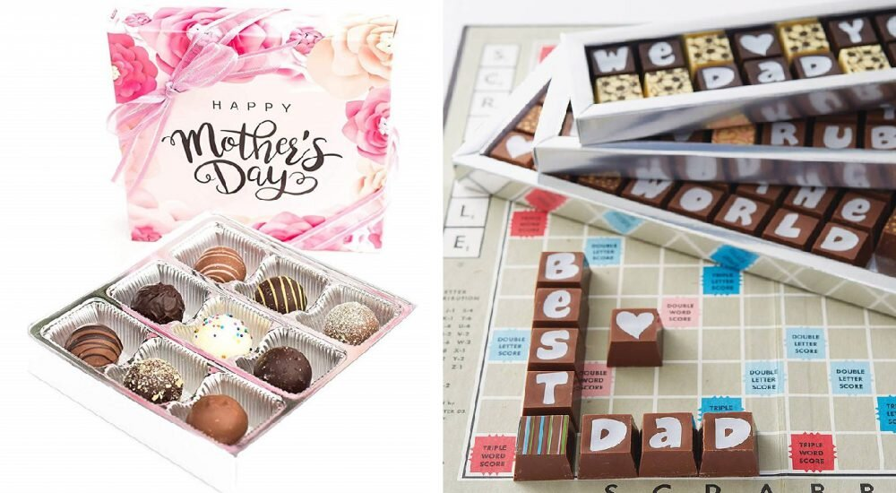 packaging chocolat scrable