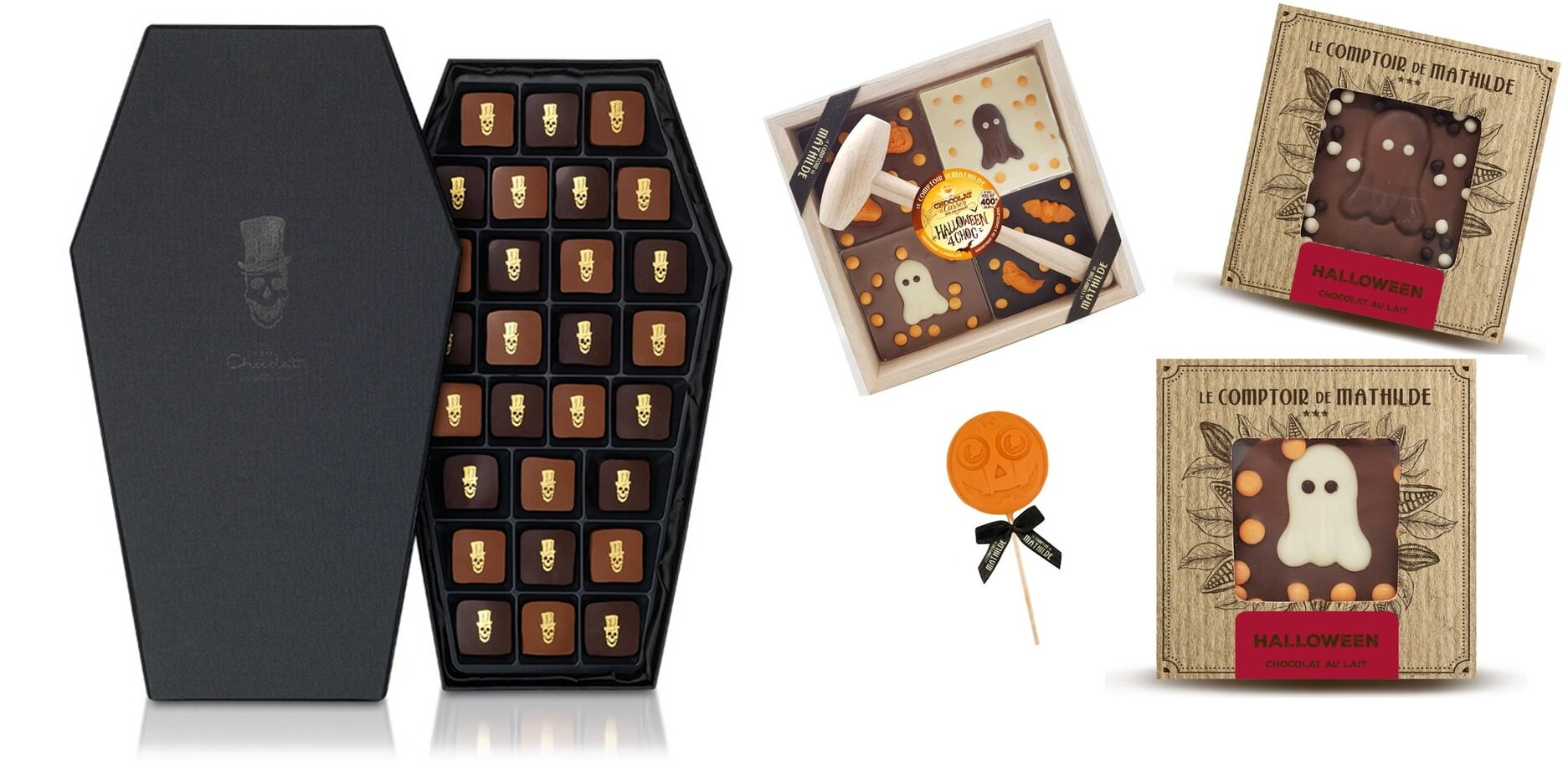 packaging chocolat halloween