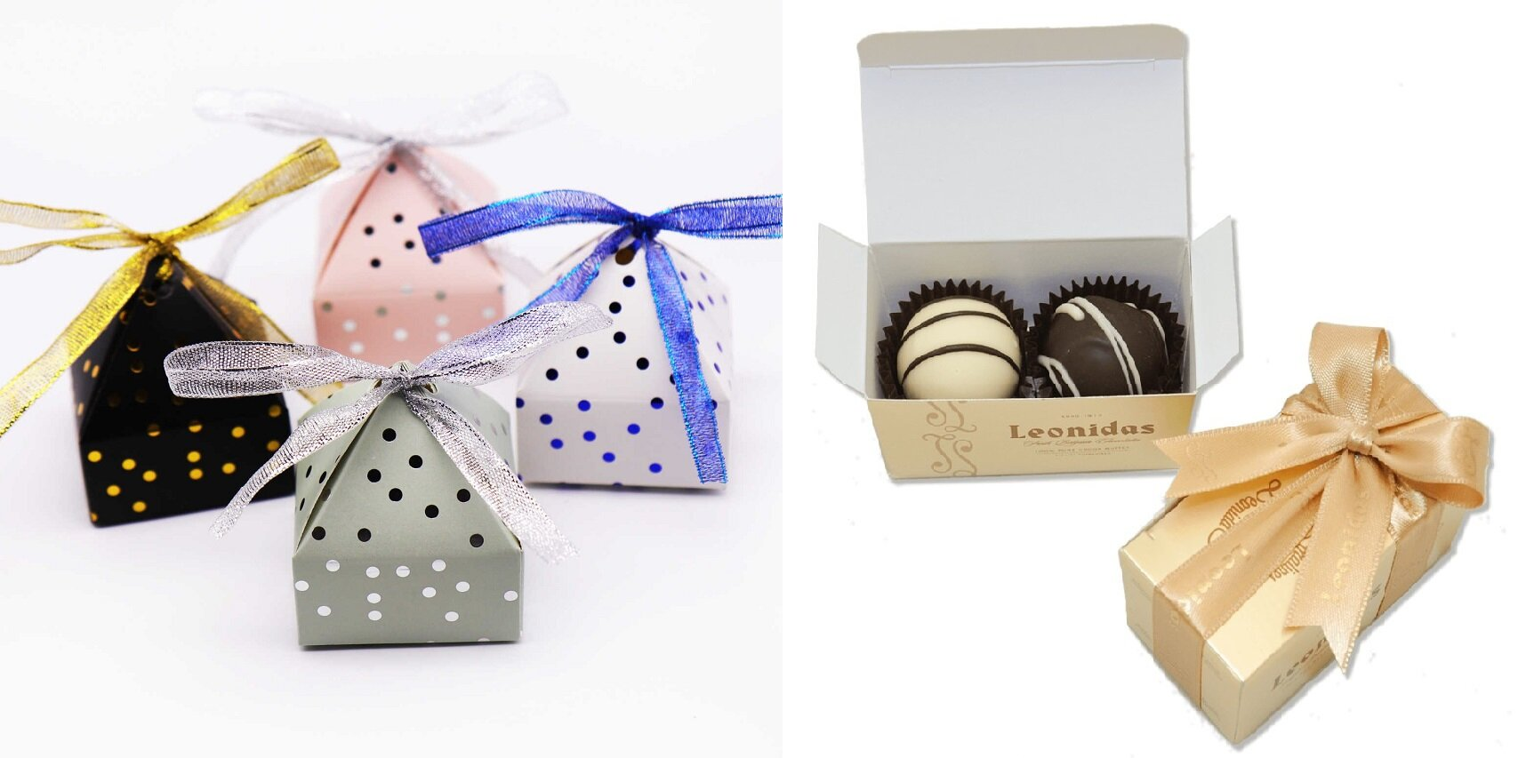 packaging chocolat haut de gamme Léonidas