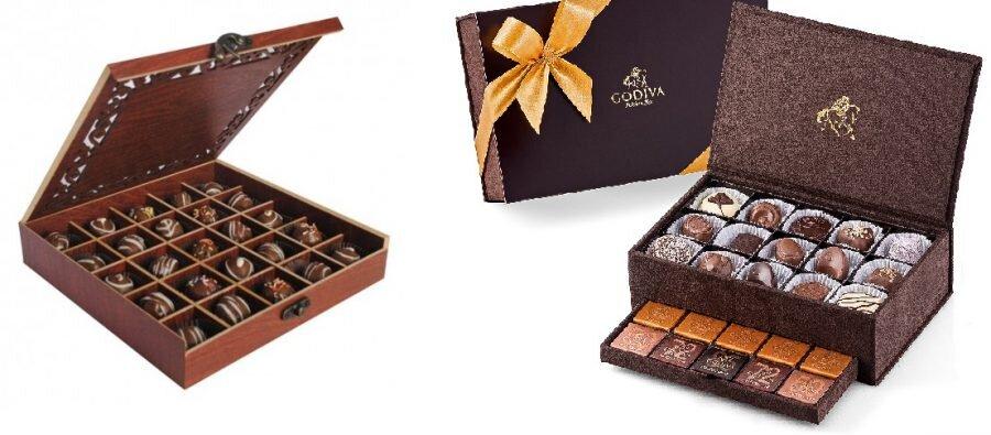packaging chocolat haut de gamme