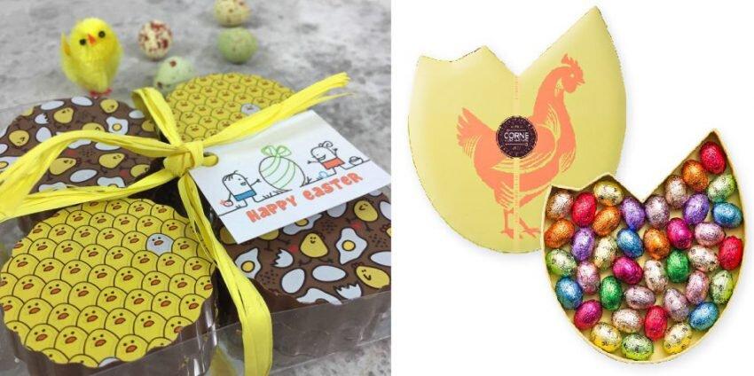 packaging chocolat en forme d'oeuf