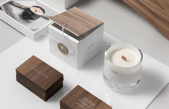 packaging rigide pour bougie