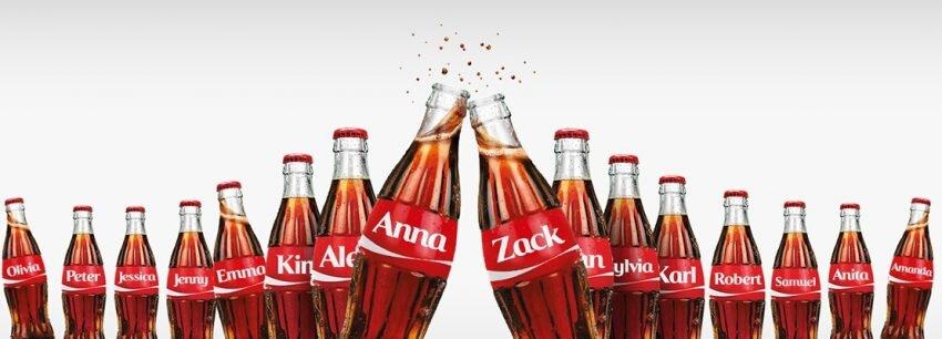 Coca-Cola bouteilles personnalisées