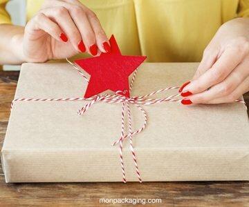 Comment réaliser un emballage cadeau de Noël personnalisé ?