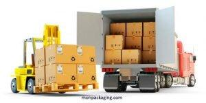 La distribution, en lien avec le transport et le stockage