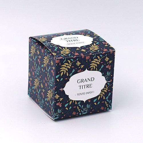 packaging savon cube