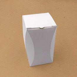 Boite écologique avec rectangle arêtes incurvées