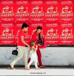 Affiches de Coca-Cola pour le Festival Pekan Tuaran
